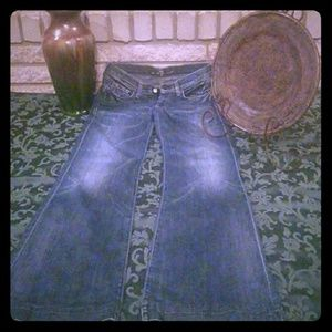 A PAIR OF 7 for ALL MANKIND JEANS...28 waist